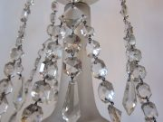 English five arm chandelier