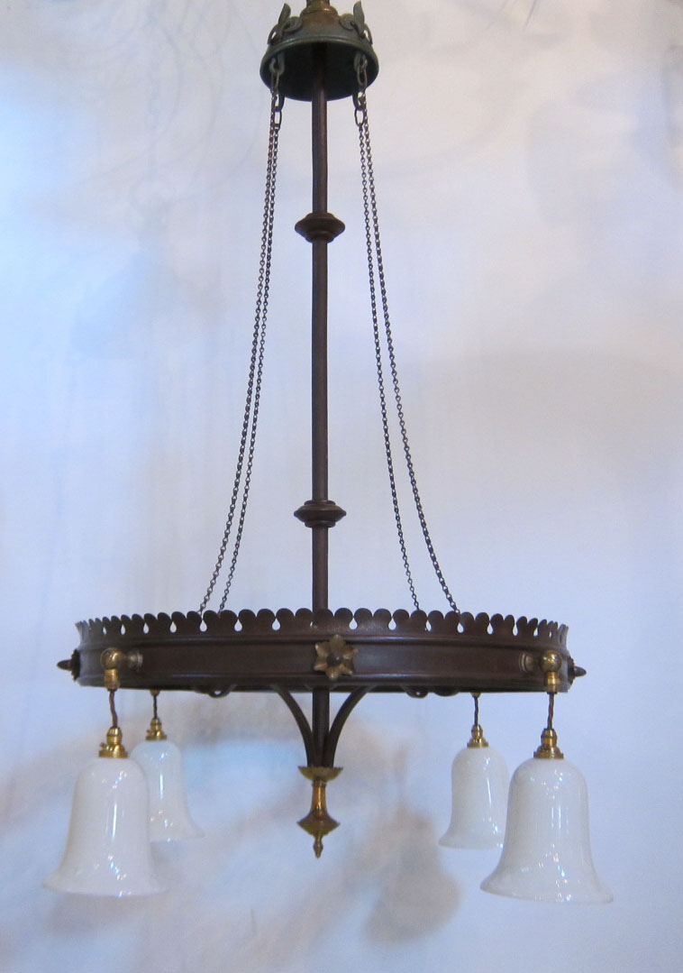 English Gothic Ceiling Light
