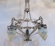 Five arm ceiling light