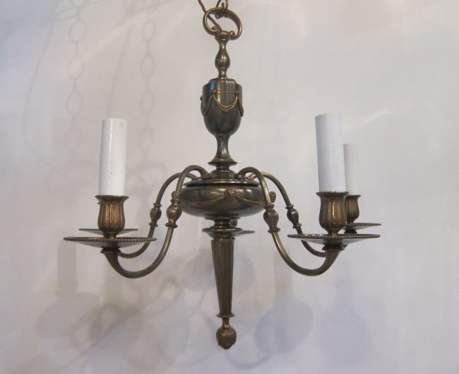 Elegant Five Arm Ceiling Light