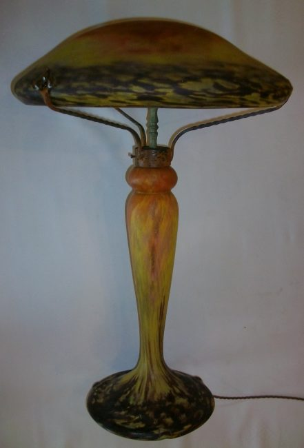 French Daum  table light