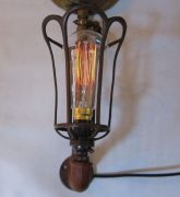 Pair of steam punk wall lights
